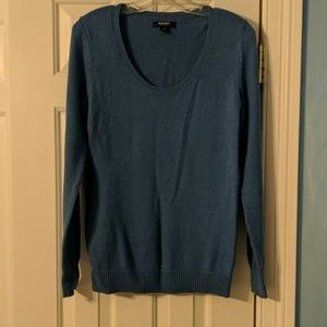 Old Navy Soft Blue Scoop Neck Sweater